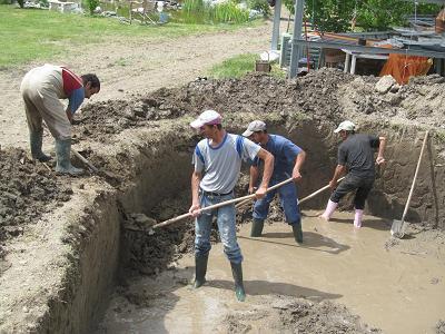 betonieren im grundwasser